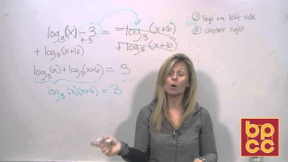 Math 102 Module 12.3 - Logarithmic Expressions and Solving Logarithmic Equations