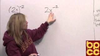 Math 099 Module 5.1 - Negative Exponents and Scientific Notation