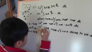 Math Whiz Kid Proofs Calculus formulas, integral of sqrt(x^2+a^2) table