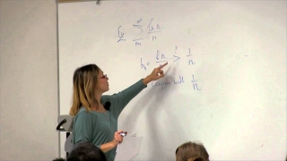 Math 2B. Calculus. Lecture 22. The Comparison Test