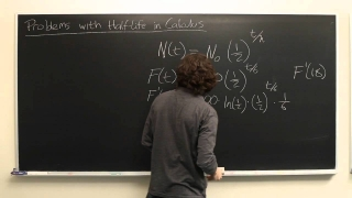 Calculus Explained : Problems With Half-Life in Calculus