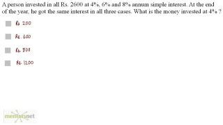 QT 159 Simple Interest Question Set 5