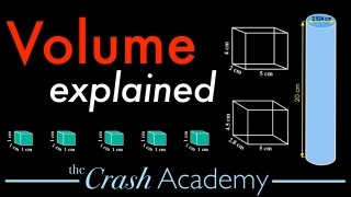 Volume Tutorial: Calculate / Find Volume of a Cylinder & Rectangular Prism; Math & Chemistry Academy