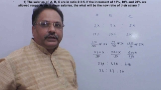 Quantitative Aptitude - Ratio and Proportion -1- lakshya education- math's guru no.1