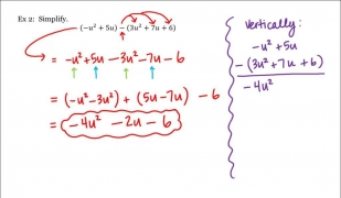 Math 1A/1B. Pre-Calculus: Adding and Subtracting Polynomials