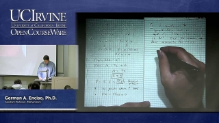 Math 2A. Calculus. Lecture 25. Optimization.