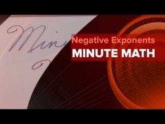 Minute Math Ep7 - Calculus Derivative: Negative Exponents