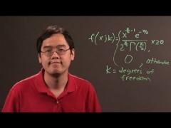 Chi-Square Probabilities : Math & Calculus Tips