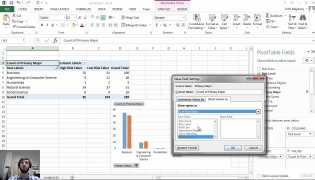 Math 37, Lab 1 - Investigating categorical variables with Excel