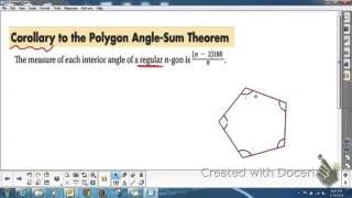 GEOMETRY 6.1 Polygon Angle Sum Theorems