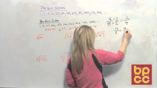 Math 099 Module 13.5 - Simplifying Radical Expressions & Rational Exponents
