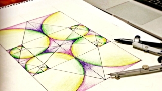 How To Draw Golden Ratio Spirals ∞ Tutorial On Sacred Geometry