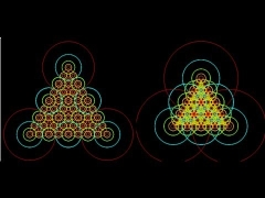 The Generalized Circle Fractal: Exploration & Straightedge-Compass Construction