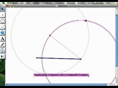 Construction: Duplicating A Segment (Collapsible Compass)